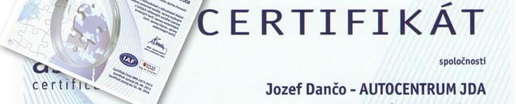 Získali sme certifikát ISO 9001:2008